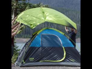 Coleman Dark Room SunDome Tent